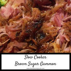 Slow Cooker Brown Sugar Gammon
