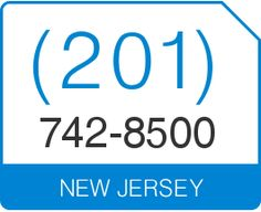 Great New Jersey Area Code 201 Local Vanity Telephone Number