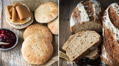 Bread And Pastries, Omelette, Bread Baking, Scones, Baked Goods, Sandwiches, Berries, Yummy Food, Yummy Recipes