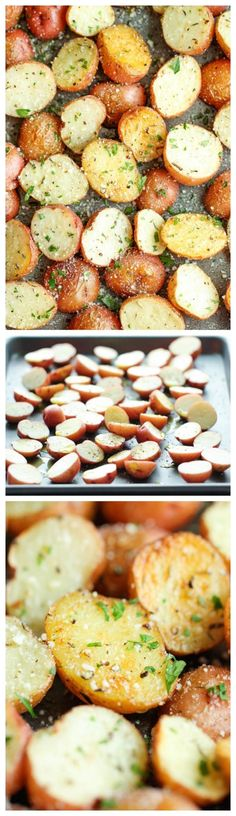 Garlic Parmesan Roasted Potatoes by milagros