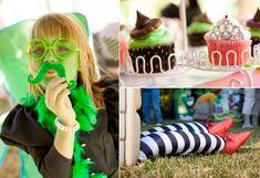 Wicked themed birthday party Wizard of Oz via Kara's Party Ideas karaspartyideas.com #wizard #oz #wicked #party #idea