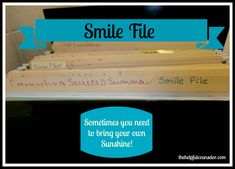 Smile file!  One of a counselors most important resources to prevent burnout (I have one!)