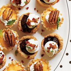 Pinched for time? Swap the dough for frozen mini-phyllo pastry shells.