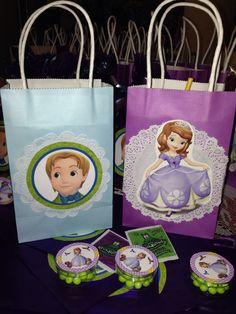 Dulceros Princesa Sofía y Príncipe James// Princess Sofia and Prince james Children's party.