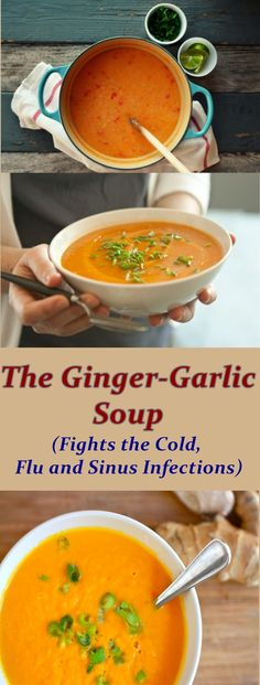 Medicine in a Cup: The Ginger-Garlic Soup That Fights the Cold, Flu and Sinus Infections