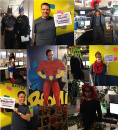 Great Customer Service Week! Thank you to our Customer Service Team for all you do! #Superheroes #CSWeek2014 #CSWeek