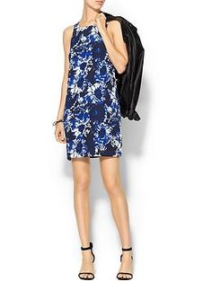 Piperlime Collection Printed Sleeveless Mini Dress   Piperlime