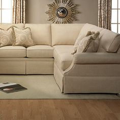 Bexley One Tone Fabric Sofa With Nailhead Trim By