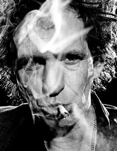 Keith Richards.   What's the trick to staying this youthful?