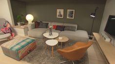 Bolig Korsvoll - Superoppusserne - TV3 - Stue Living Room, Interior, Table, Furniture, Home Decor, Decoration Home, Indoor, Room Decor, Home Living Room