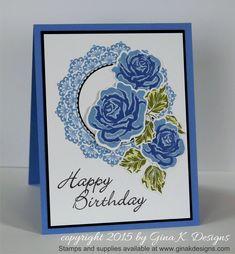 Birthday Roses - stampTV