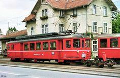 BDe 207 in Frauenfeld Stadt September Train Suisse, Trains, Swiss Railways, Bahn, Train Travel, Transportation, 5 September, Around The Worlds, 3d