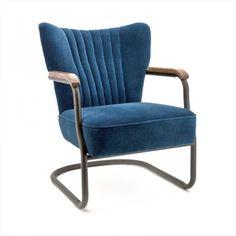 Milu retro vintage 50er jaren fauteuil