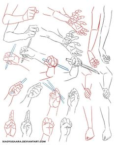 hand and arm positions