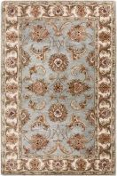 Traditional oriental patterns with a smooth modern twist highlight the Brilliance collection from Surya. These hand tufted rugs are made of silky viscose which offers a softer feel as well as a gorgeous sheen. Each area rug offers unique color tones that blend harmlessly into any room decor.