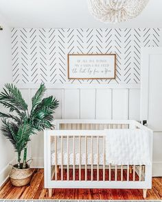 Beautiful gender neutral nursery inspiration with Delicate Herringbone removable wallpaper by Livette's Wallpaper. Beautiful gender neutral nursery inspiration with Delicate Herringbone removable wallpaper by Livette's Wallpaper.
