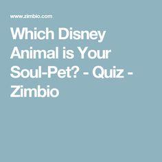 Which Disney Animal is Your Soul-Pet? - Quiz - Zimbio