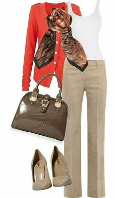 Love, love, love this look (enough to make me consider wearing heels to work)