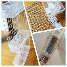 家中のデッドスペース有効活用に、ワイヤーネットを使ってみませんか?使えるアイディアを集めてみましたので、参考にしてみてくださいね。