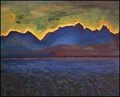 View Dusk - Tantalus Range by Frederick Horsman Varley on artnet. Browse upcoming and past auction lots by Frederick Horsman Varley. Canadian Art, Landscape Paintings, Landscape Artist, Fine Art, Group Of Seven Artists, Online Art, Varley, Seascape, Tom Thomson