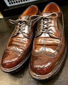 2017/09/18 00:50:52 show1fujita_shoeshiner 革のダイヤモンドと言われますが、革のデニムだと思う #alden #usa #cordovan #shoeshine #shoepolish #polish #shoes #mirror #boots #leathershoes #leather #suit #clothes #fashion #style #cool #オールデン #アメリカ #コードバン #靴磨き #鏡面磨き #磨き #靴 #ブーツ #革靴 #革 #スーツ #ファッション