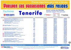 4ª Edición Las vacaciones mas felices. Hoteles en Tenerife salidas desde Palma de Mallorca - http://zocotours.com/4a-edicion-las-vacaciones-mas-felices-hoteles-en-tenerife-salidas-desde-palma-de-mallorca/