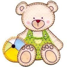 Resultado de imagem para urso moldes