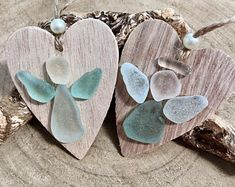 Scottish Sea Glass Guardian Angel