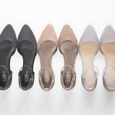 Meet the D'orsay Flat. Which color has your name on it?