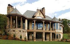 Luxury stone exterior design~