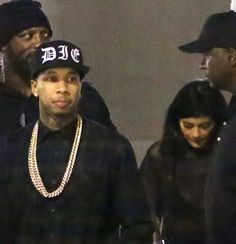 March 8, 2015 - Kylie Jenner & Tyga leaving The Forum in LA.