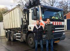 HvA-stagiairs Mees en Thomas maken A'dam schoner en veiliger met slimmere routes vuiniswagens! #hergebruikendiezooi