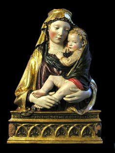 Madonna di Fiesole - Attribuita a Filippo Brunelleschi - Museo Bandini - Fiesole