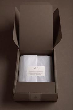 fogal luxury packaging | BEL EPOK Love monotone or tonal branding/packaging ...feels subtle and luxurious. Luxurious tissue paper wrap.
