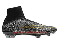 pretty nice 6e56c fc465 Nike Mercurial Superfly FG CR7 Chaussure de football pour sol dur pour Homme  Volt cocktail 677927 001