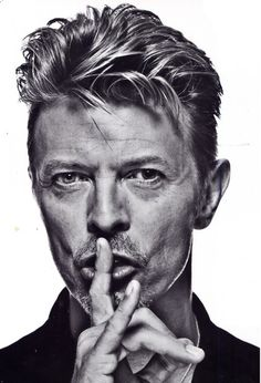 david bowie oath of silence and satan horns