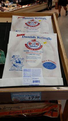 Oh Danish Kringle IT'S FINALLY BACK @ Trader Joe's