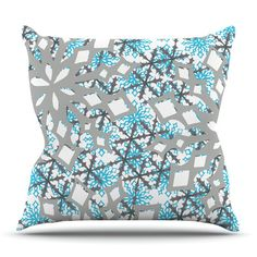 East Urban Home Chilly by Miranda Mol Outdoor Throw Pillow
