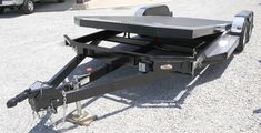Tilt Bed Trailers - We can special order any size trailer to fit your needs! Car Hauler Trailer, Trailers, Trailer Plans, Trailer Build, Trailer Suspension, Tractor Attachments, Utility Trailer, Jeep Liberty, Welding Projects