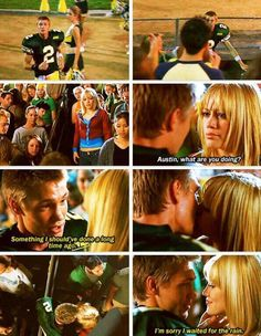 """Favorite scene from the movie """"A Cinderella Story"""" Teen Movies, Iconic Movies, Classic Movies, Good Movies, Awesome Movies, Cinderella Story Quotes, Another Cinderella Story, Cinderella Movie, Movies And Series"""