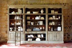 шкаф книжный широкий ″Шато″ - в стиле Кантри