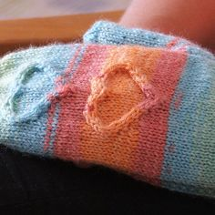 Ravelry: With Love... mittens pattern by Piro