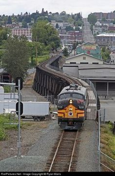 RailPictures.Net Photo: NP 7012A Northern Pacific EMD F9(A) at Tacoma, Washington by Ryan Marrs