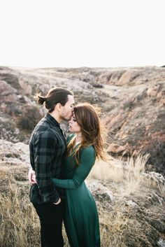 Beautifully Windy Engagement at Wichita Mountains Wildlife Refuge | Matt McElligott Photography