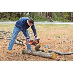 Electric Chainsaw Cutting Pruning Trimmer Lawns Heavy Duty Trees Branches Tools…
