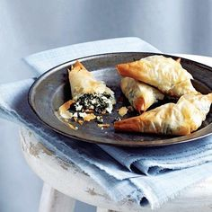 spinach pie bites -