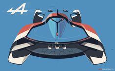 New Renault-Alpine Racing Car Revealed for Gran Turismo 6 - AutoConception.com