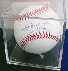Reggie Jackson PSA autographed Baseball New York Yankees Oakland A s MLB Tristar   eBay