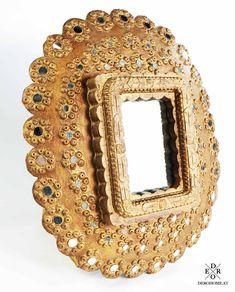 """Dekorativer Wandspiegel """"Abha"""" mit kleinen Spiegel-Applikationen im tollen Vintage Look. Home Living, Inspiration Wand, Mirror, Frame, Instagram Posts, Vintage, Home Decor, Furniture, Nice"""