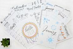Do you want to get more organized for the New Year but don't know where to start? Download these Bullet Journal printables and customize your planner!